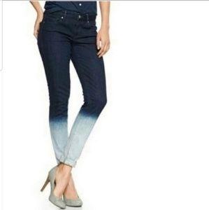 GAP Indigo Dip Dyed Jeans
